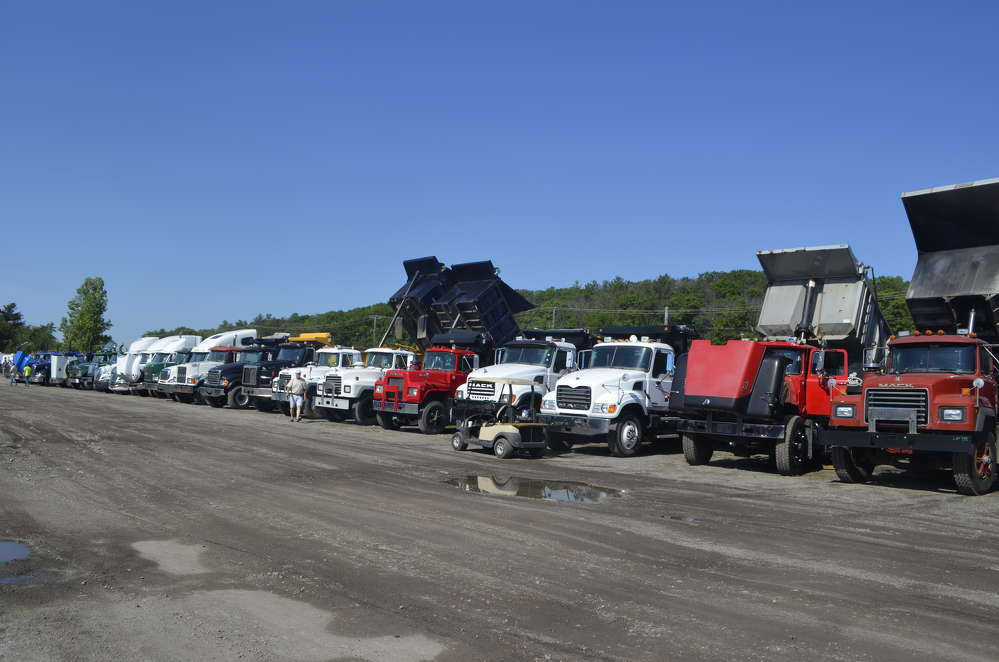The North County sale featured an extensive fleet of on-road trucks and dumps.