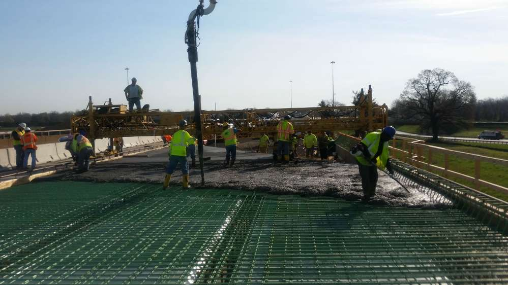 The second stage of the I-295 Southbound Reconstruction Project, west of the Delaware Memorial Bridge Toll Plaza to the I-95/I-495 split, began July 10. (DRBA photo)