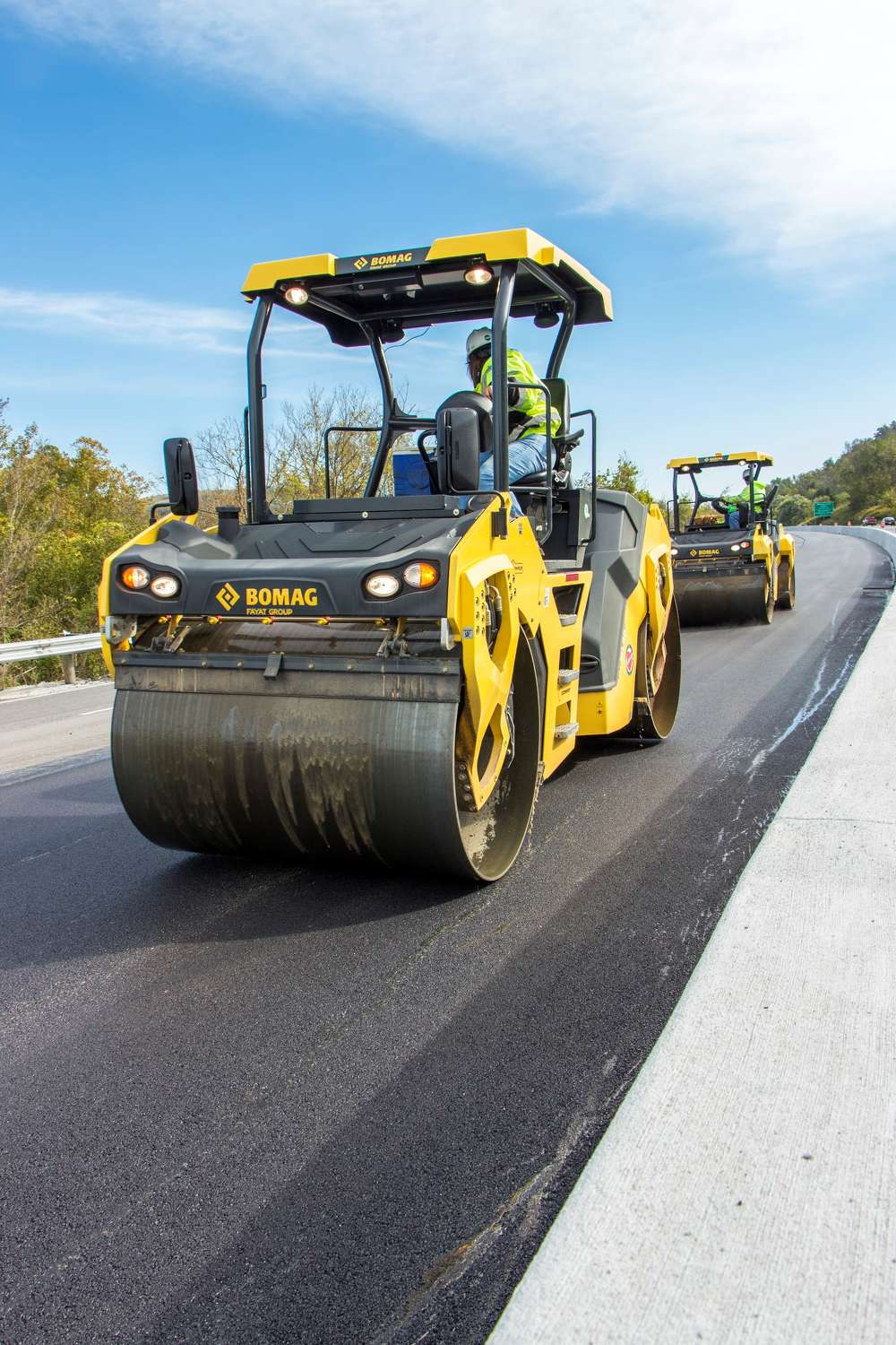Offering design enhancements over previous series, Bomag's Dash 5 rollers increase productivity, improve mat quality and reduce service time.