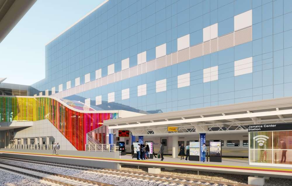 Jamaica Station rendering