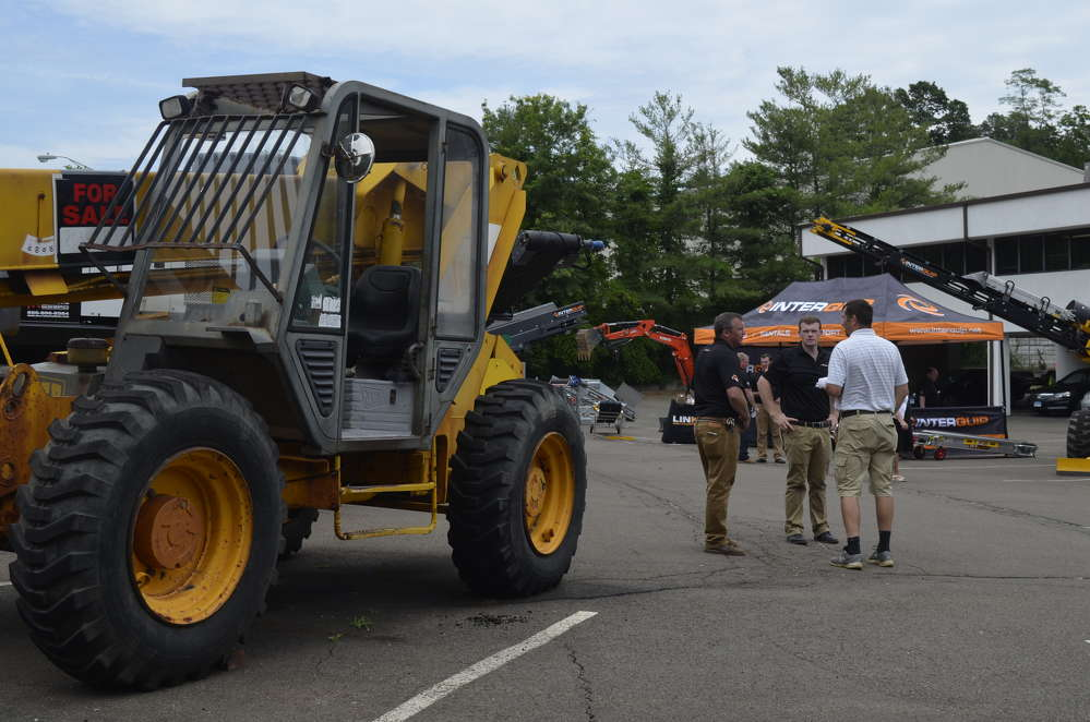 Material handling equipment including telehandlers, excavators, trucks and loaders also were on site from various other equipment distributors in the tri-state area.