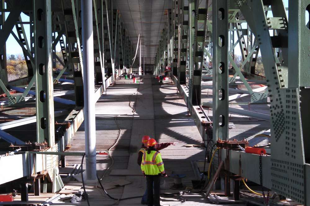 New York State DOT's Patroon Island Bridge Rehabilitation Project won in the medium Operations Excellence category.