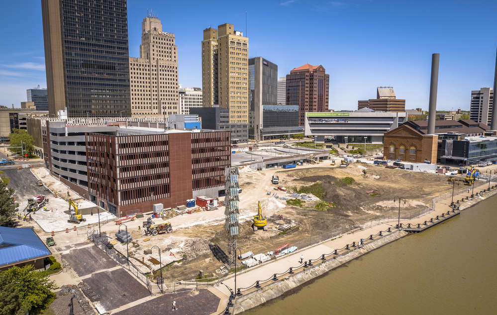 Construction and renovation of ProMedica's new Downtown Headquarters project in Toledo will soon wrap up.