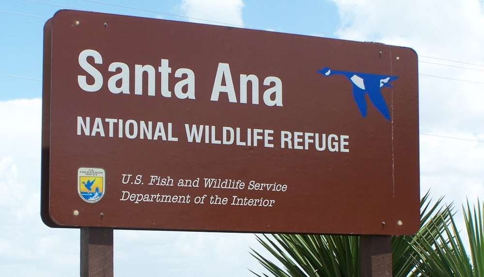 """The Santa Ana Wildlife Refuge is the proposed site for """"an 18-foot levee wall [that] would run almost three miles through the land."""""""