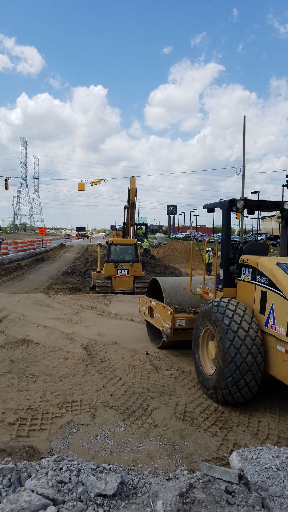 """The work, along the """"Golden Corridor,"""" began in March 2016 and is expected to be completed September 19, 2018."""