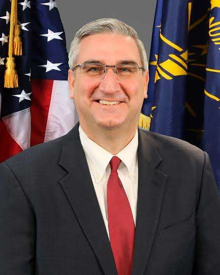Indiana Gov. Eric Holcomb announced $4.7 billion will be spent on infrastructure projects. (in.gov photo)