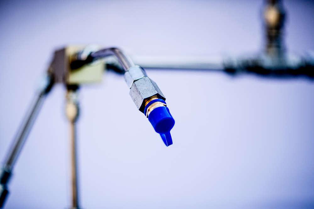 A liquid nozzle.