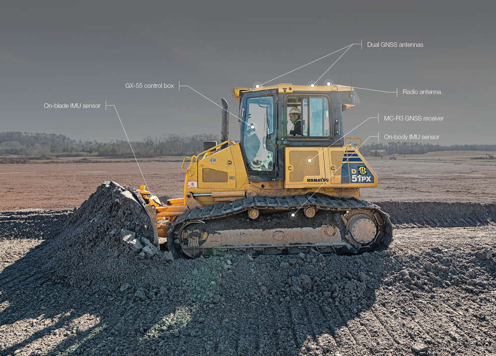 A development in the ongoing evolution of machine control technology, is Topcon Positioning Systems' introduction of its 3D-MCMAX integrated 3D dozer system.