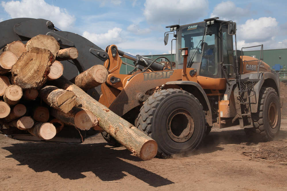 The company recently purchased several Case wheel loaders up to 296 hp from Border Equipment in Augusta, Ga.