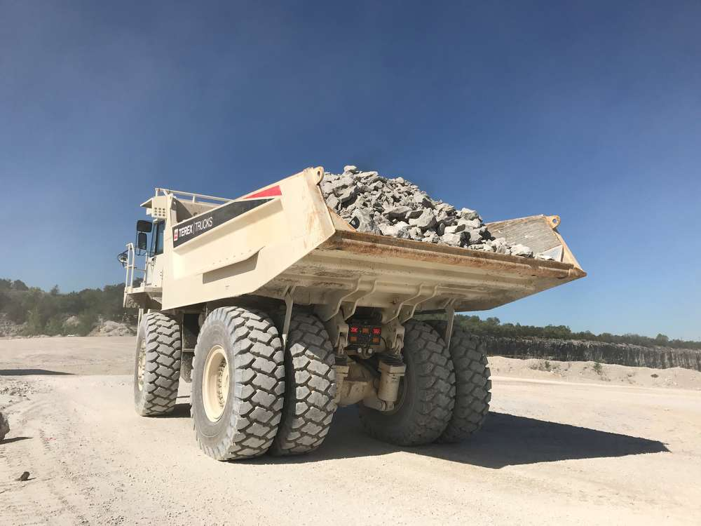 To help continue the smooth running of its operations at its Willard facility, the company recently purchased Terex Trucks' 72-ton capacity rigid hauler, the TR70.