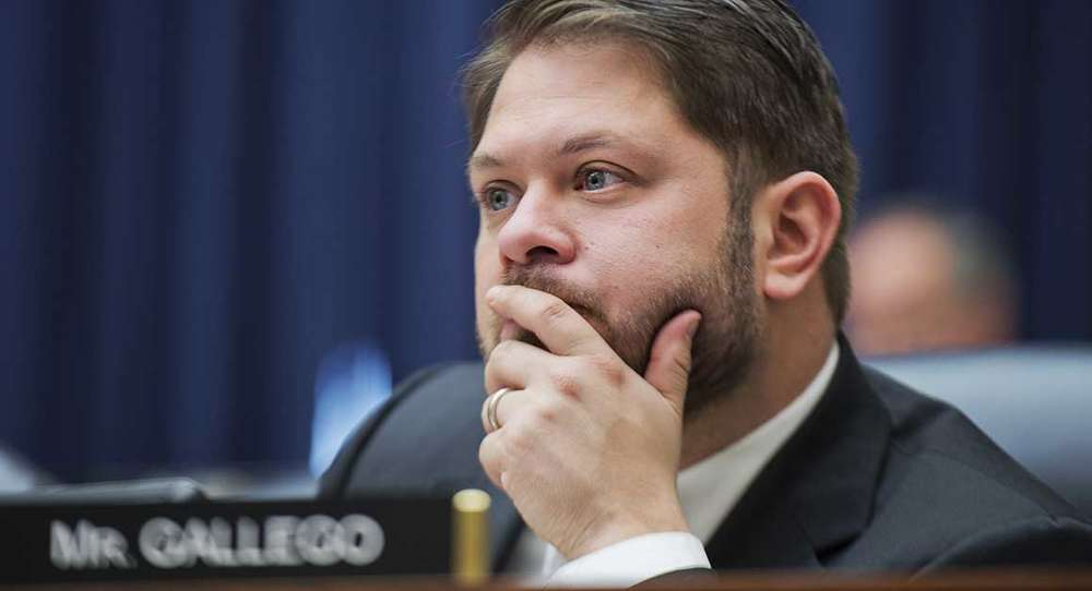 Congressman Rueben Gallego, D-Ariz., said he feels the request should not be included in the defense spending bill, but should instead be created into a separate bill.