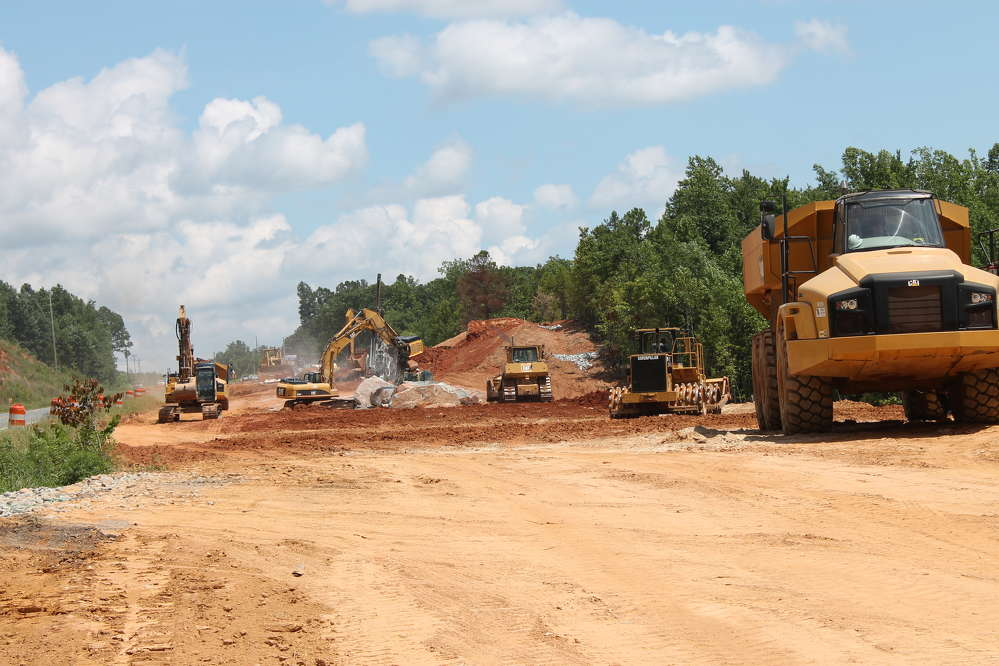 In an effort to reduce congestion and improve the traffic flow on U.S. 64, the North Carolina DOT is working with a joint venture made up of two general contractors to design-build the $244 million U.S. 64 Asheboro Bypass.