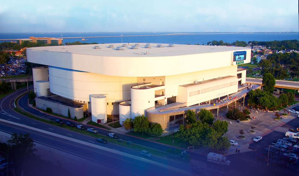 The new arena would replace the Bay Center, which opened in 1985.