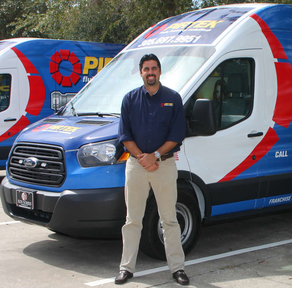 Carlos Shortt, owner of PIRTEK Doral and PIRTEK Fort Lauderdale.