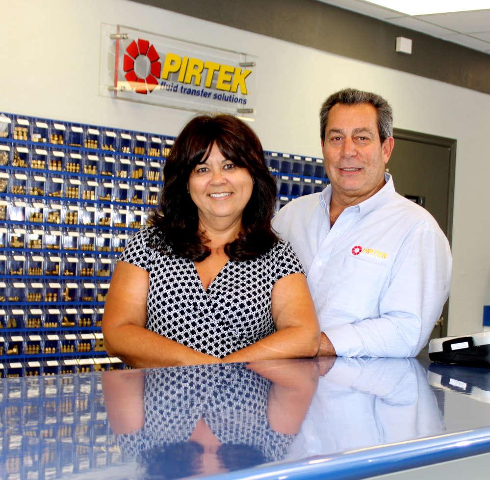 Dan Ferretti, owner of PIRTEK Daytona and PIRTEK Space Coast, and his wife, Karin.