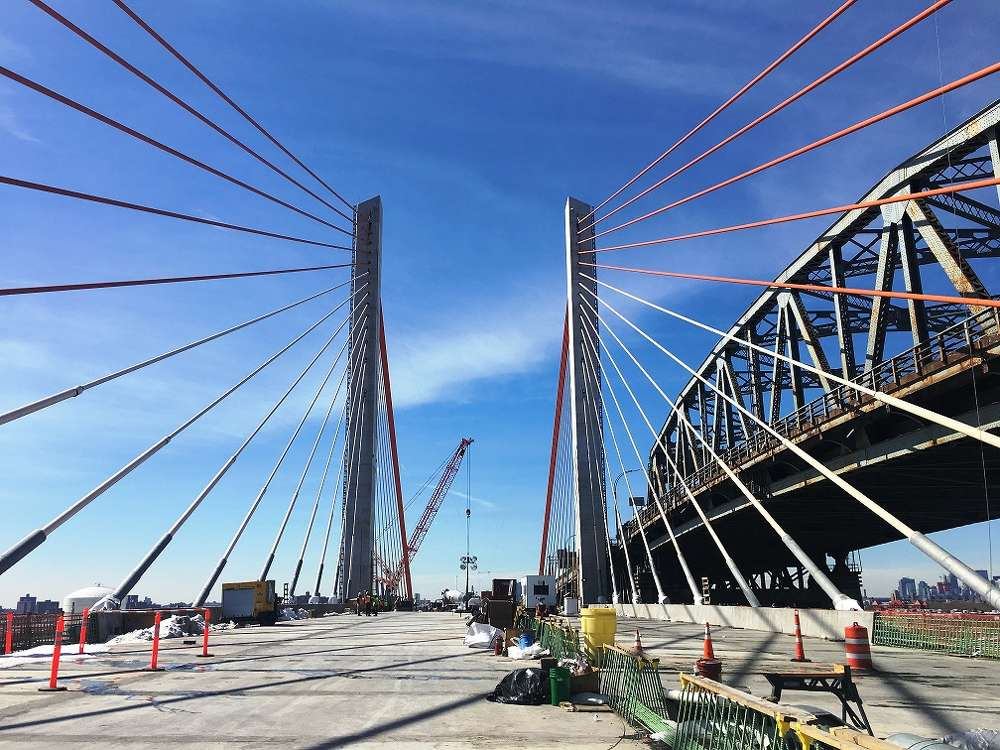 Once complete, the new Kosciuszko Bridge will improve traffic safety, reduce congestion and improve travel speeds.