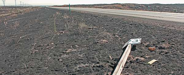 Recently, a series of small brush fires grew out of control and closed several routes throughout southern Idaho. (Idaho Transportation Department photo)