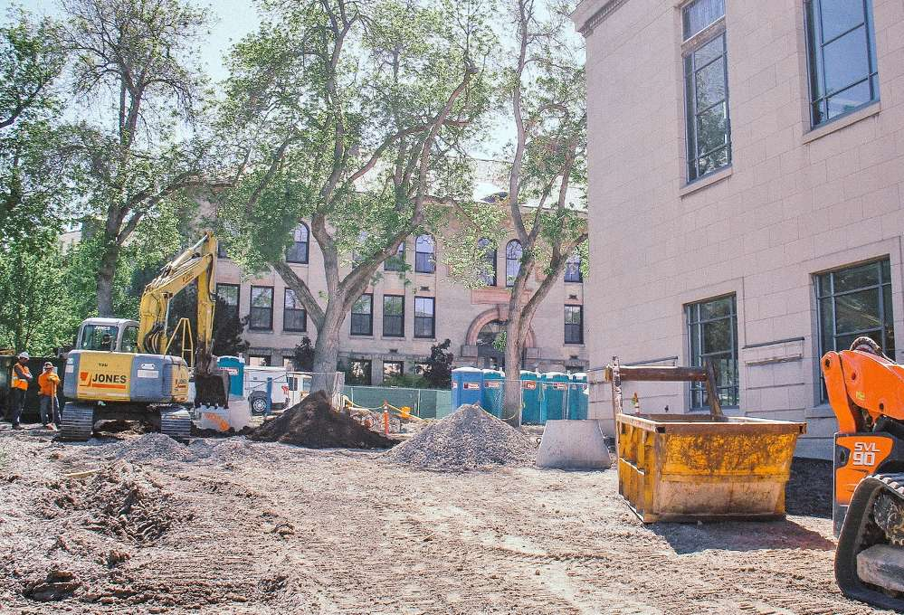 Redevelopment and preservation are part of a $57.2 million, 133,000-sq. ft. Gary and Ann Crocker Science Center project on the campus of the University of Utah in Salt Lake City. (Shireen Ghorbani photo)