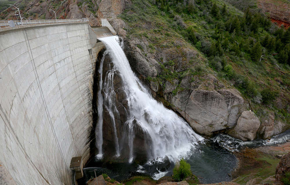 Utah Gov. Gary Herbert's Water Strategy Advisory Team mapped out a plan for using water over the coming decades in Utah (Kristin Murphy, Deseret News photo)