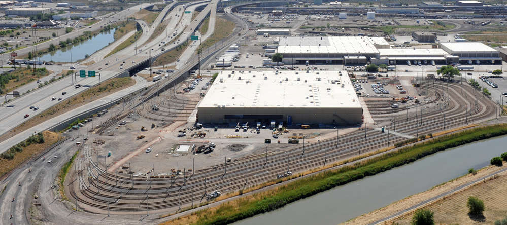 The Jordan River Service Center where UTA hosted its annual Transit Academy workshop. (stacywitbeck.com photo)