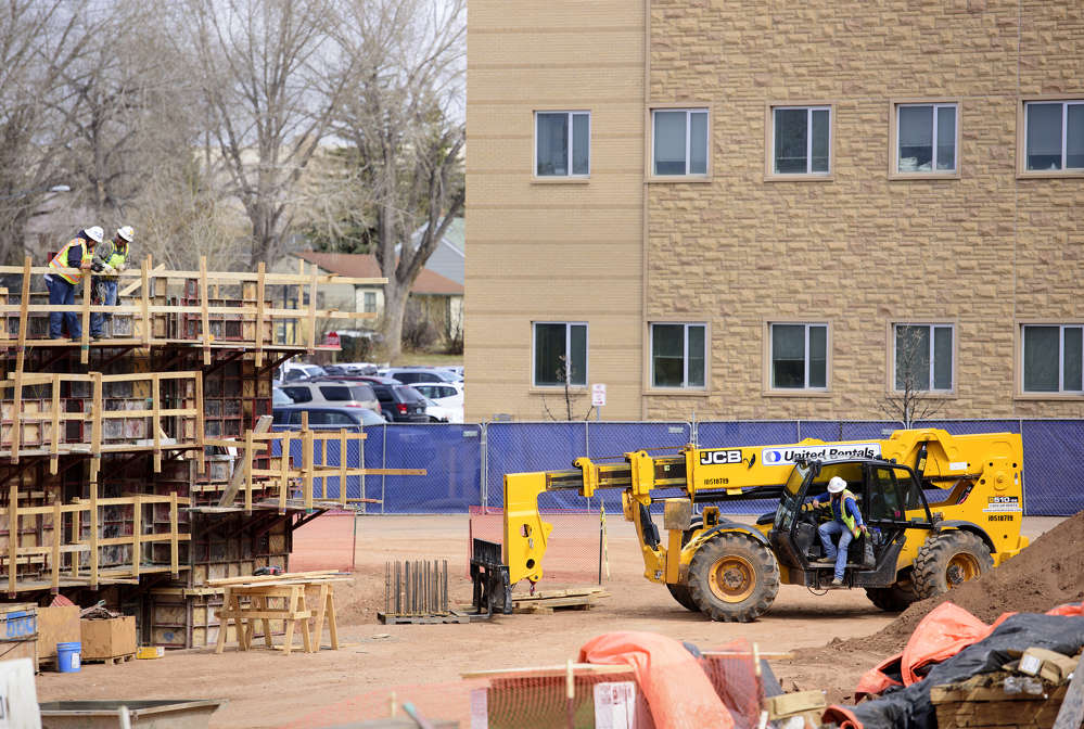 The building is designed to meet LEED Silver certification.