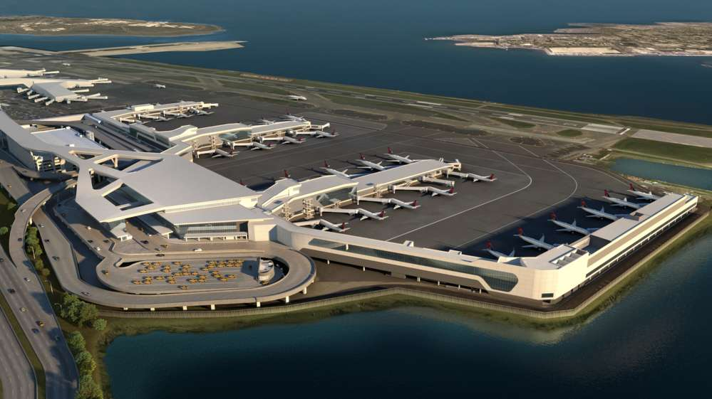 All of the new airport terminal facilities, including the Delta project, will be located closer to the Grand Central Parkway as part of the new unified airport design, providing significantly more airfield space.