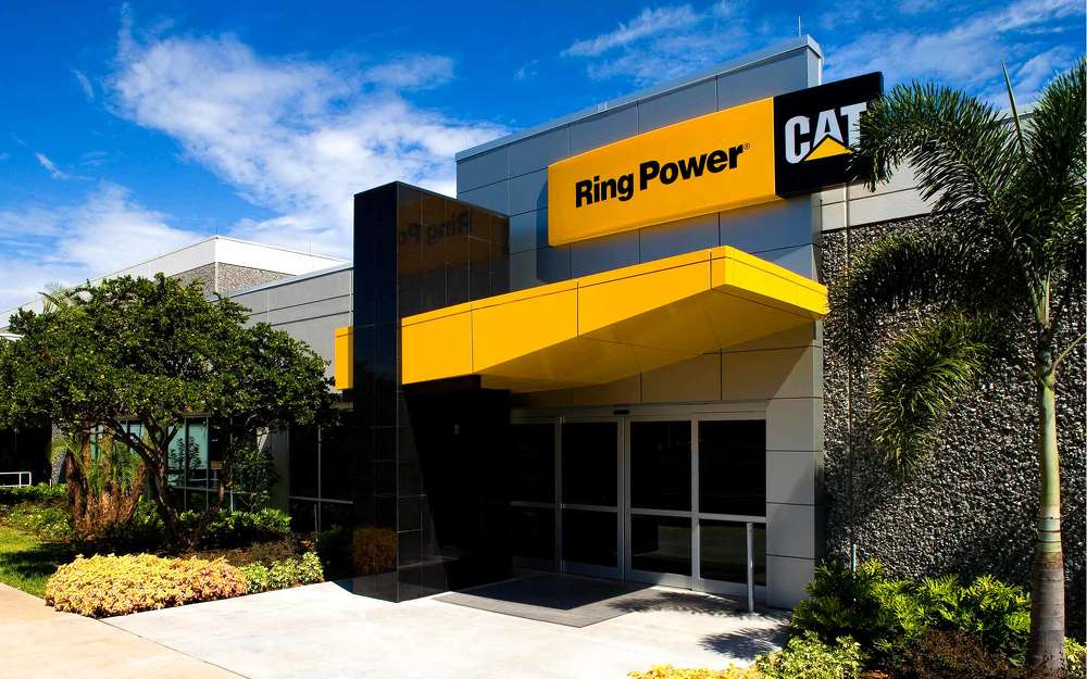 Ring Power services, rents and sells equipment to customers engaged in construction, scrap, demolition, paving, mining, forestry, agriculture, material handling and other related markets in Florida.