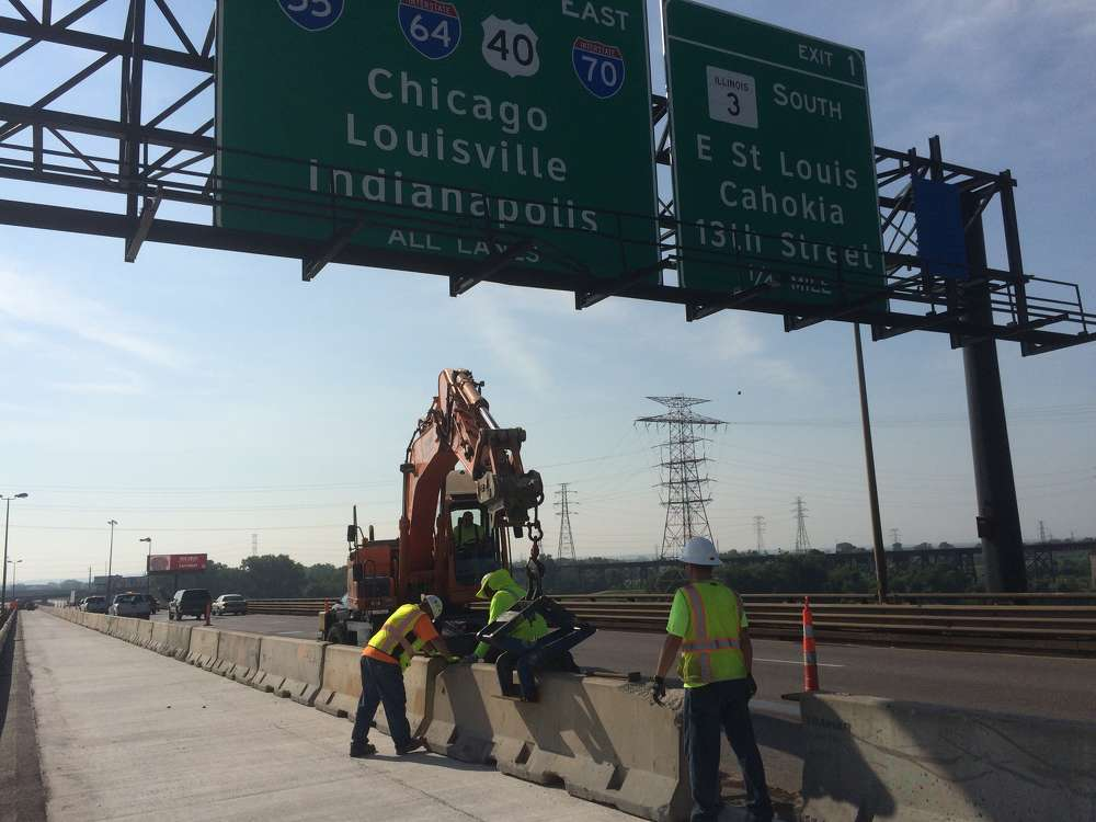 """One of the primary goals of the project is to improve safety on the bridge by reducing congestion,"" said Michelle Voegele, MoDOT's area engineer of St. Louis City."