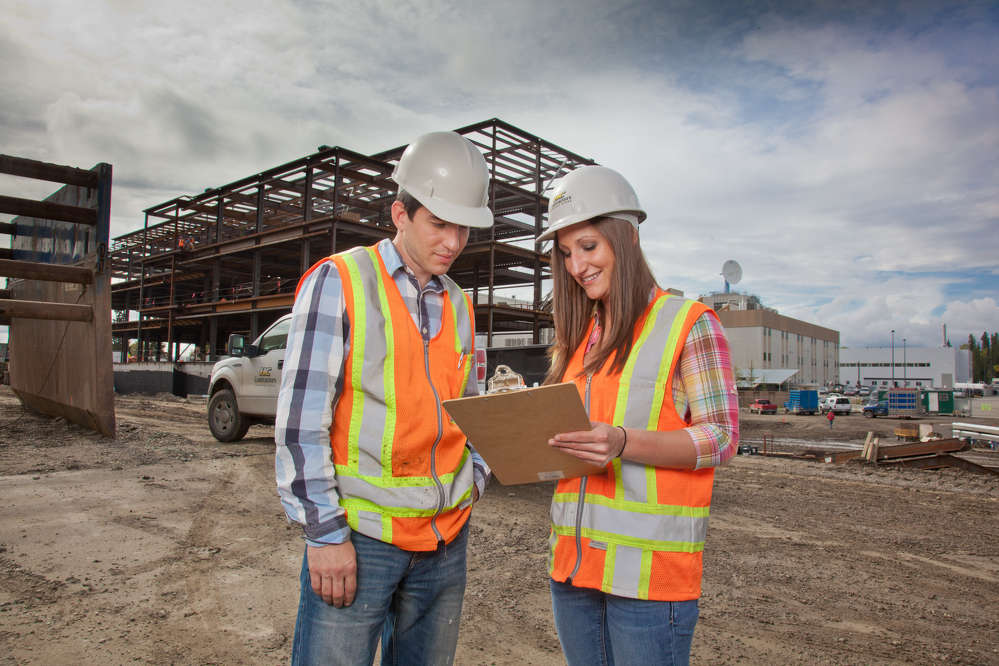 Students who like to see the physical results of their hard work may also be attracted to the construction industry.