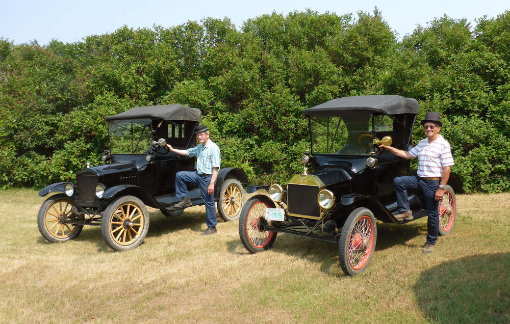 Jim, who is 76, and his brother Bill, who is 74, bought their first Ford Model T when they were teenagers (15 and 13 respectively), sparking a lifelong passion.