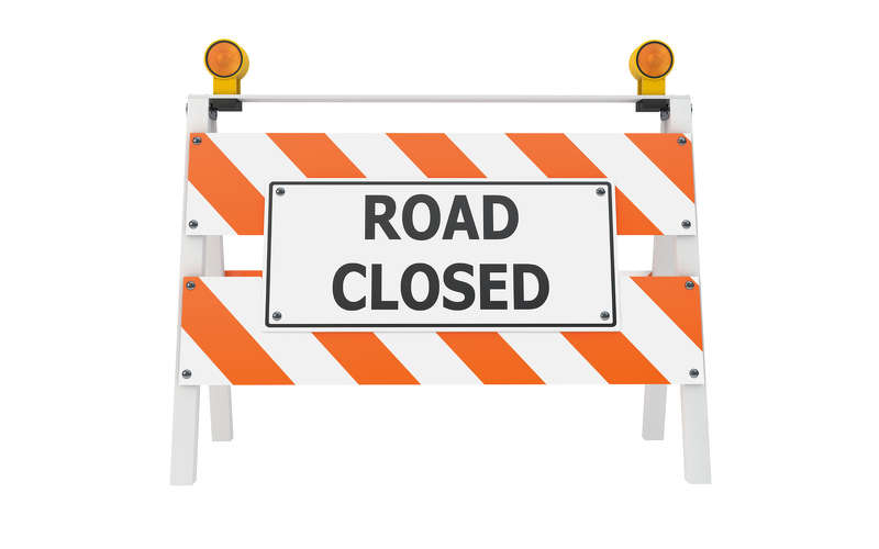 Pecos Road west of 17th Avenue will close permanently for construction of the Loop 202 South Mountain Freeway.