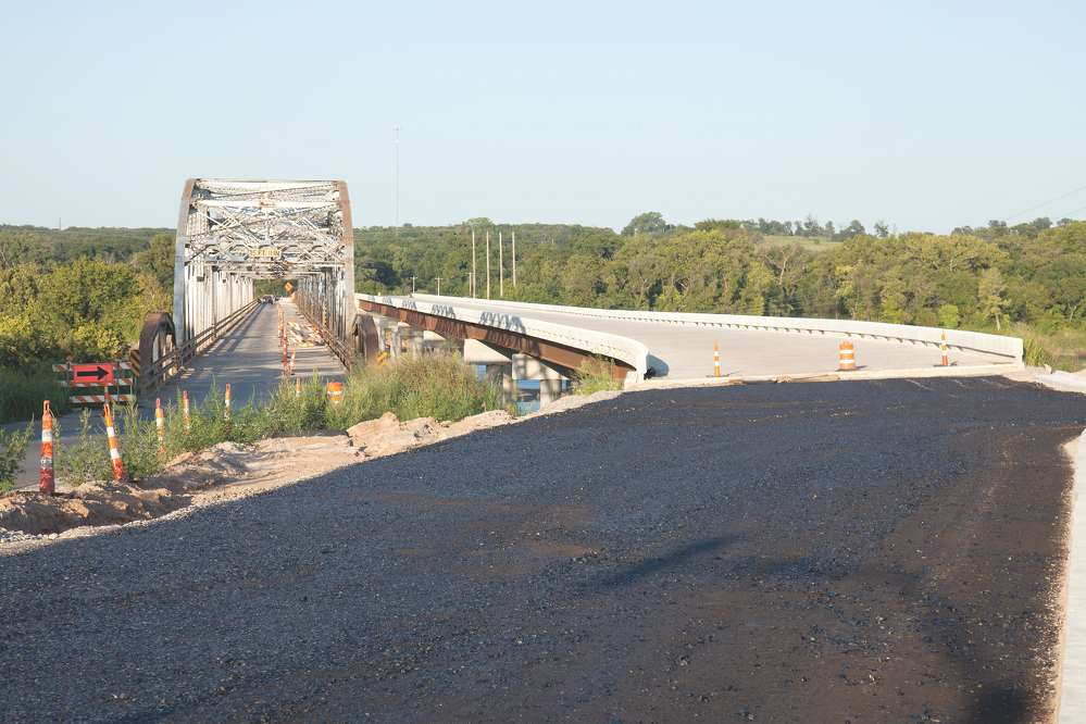 Additional financial resources in the last decade have allowed the Oklahoma Department of Transportation to address scores of structurally deficient bridges, including replacing outdated SH-18 truss bridge over the Arkansas River between Pawnee and Osage counties with a modern structure.