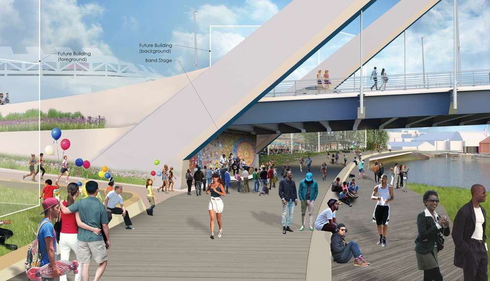 D.C.'s largest public infrastructure construction project in history will create jobs, improve connection between Anacostia and downtown.