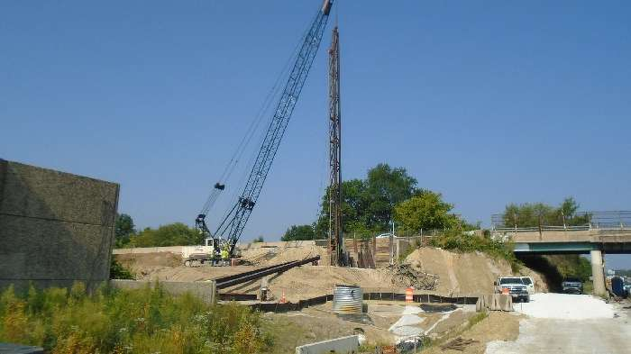 The project also included replacing the Old Harford Road Bridge over I-695.