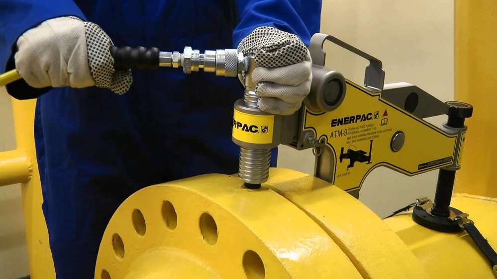 Enerpac provides its customers with the value-added services of custom design, manufacturing and field support.