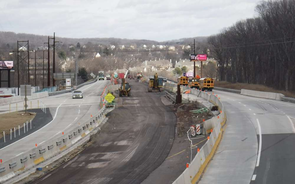 """""""It's a very heavily traveled corridor,"""" said Brad Rudolph, deputy communications director of PennDOT. """"A lot of interchanges need improvements, alignments, and some of the bridges need to be redone."""" (Photo Credit: PennDOT)"""