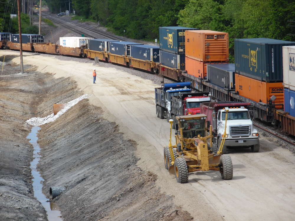 The High Speed Rail Tier 1 South is a more than $46 million contract and runs from Godfrey to Shipman, and the HSR Tier 5 is more than?$8 million  and runs from east St. Louis to Alton, Mo. (Millstone Weber Photo)