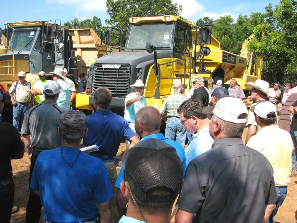 This 2016 Komatsu HM300 articulated truck with only 14 hours sold for $275,000.