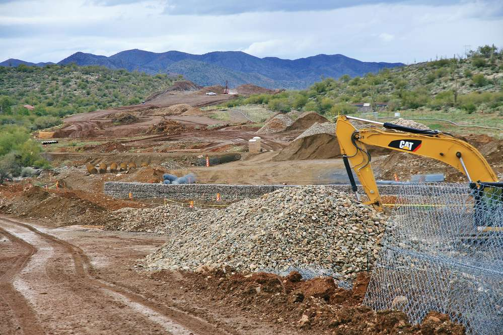 The project is part of Arizona's $32.8 million Route 60: Silver King Road Project. (FNF Construction/ADOT photo)