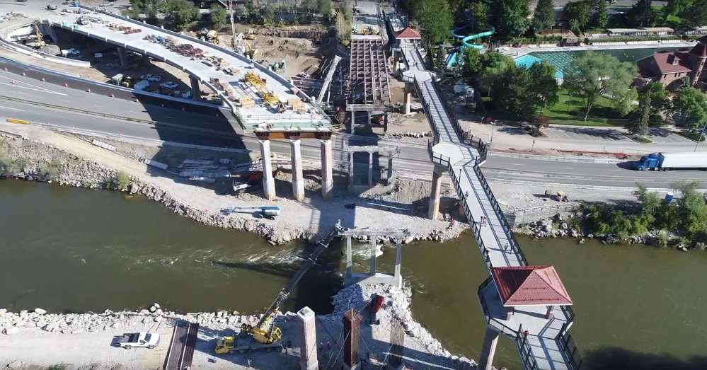 The bridge closed on Aug. 14 and is scheduled to reopen later this fall. (CDOT image)