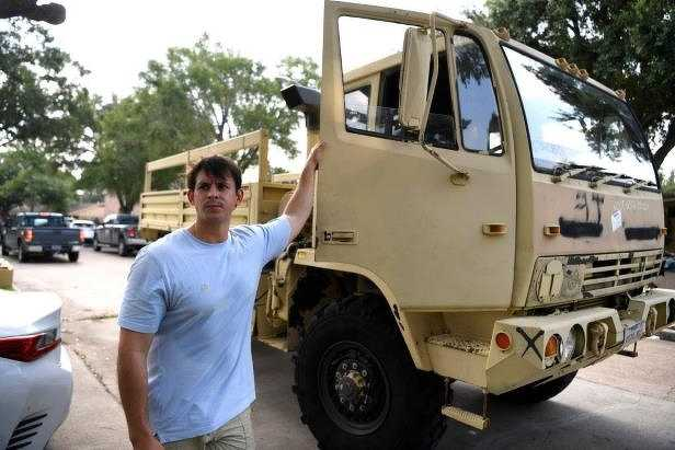 After the storm hit the Texas Gulf Coast on Aug. 25, Sissa spent three days ferrying about 300 people who were fleeing floodwaters to safety. From behind the wheel of his truck, he organized rescue operations, transported paramedics to the people who needed them most, and even helped deliver a rescue boat.