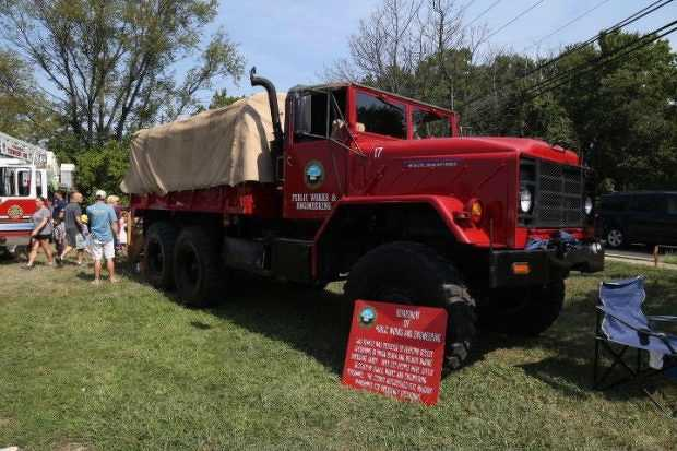 The annual Touch-A-Truck day is a child-centered event where you can find military, emergency response, construction and commercial vehicles, along with motorcycles and farm equipment.