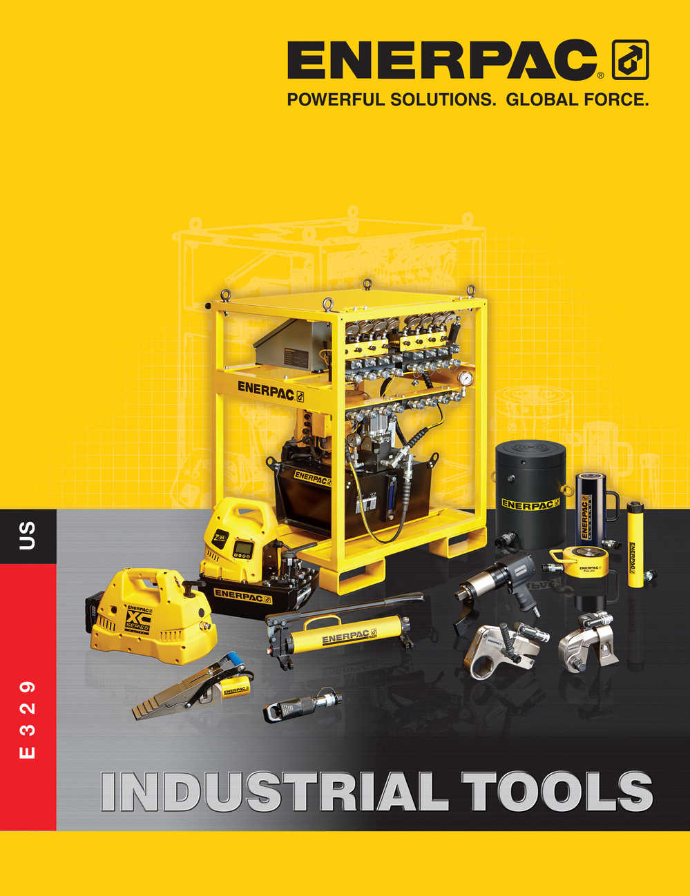 Enerpac's new Industrial Tools Catalog is now available in print and online for download.