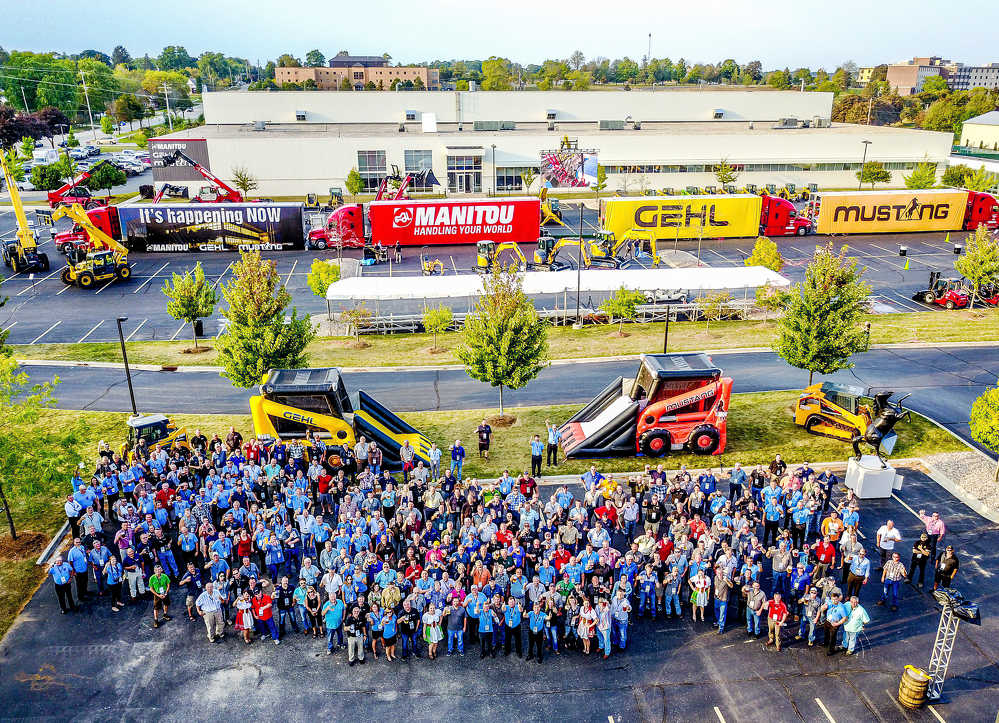 More than 267 Manitou, Gehl and Mustang dealers, representing 229 dealerships across the United States and Canada, joined together for a North American dealer event hosted by Manitou Americas at its corporate office in West Bend on Sept. 26.