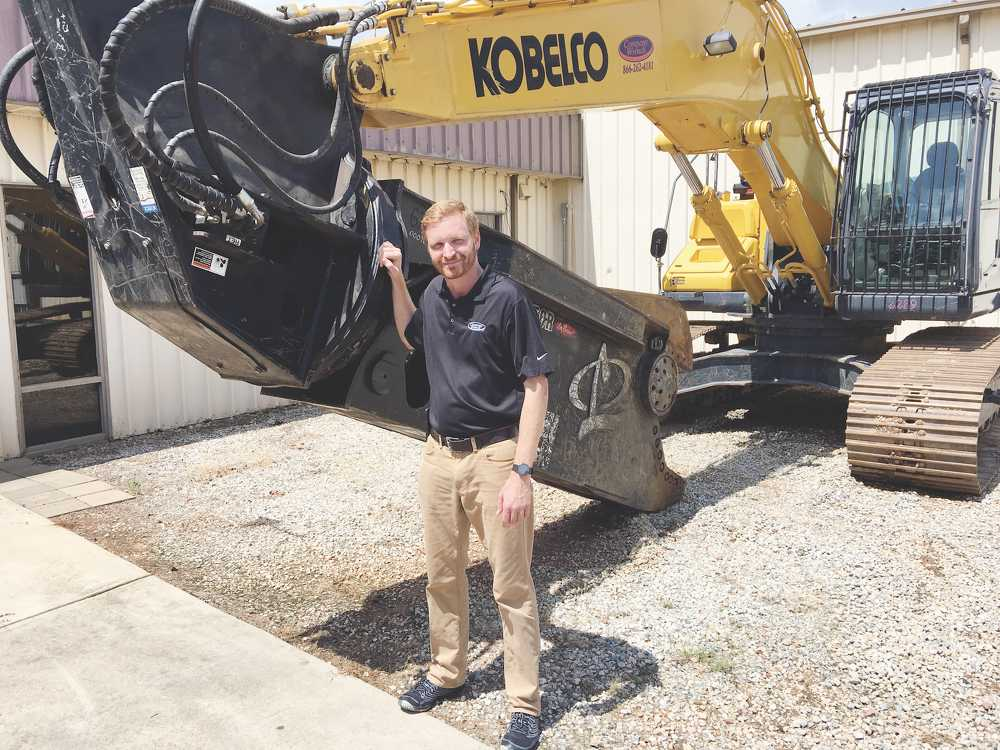 Christian Billotto, specialty markets territory sales manager, North Carolina and Virginia, Company Wrench.