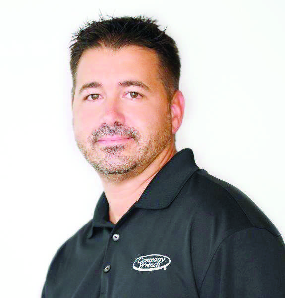 Rick Cuozzi, territory sales manager of Company Wrench.