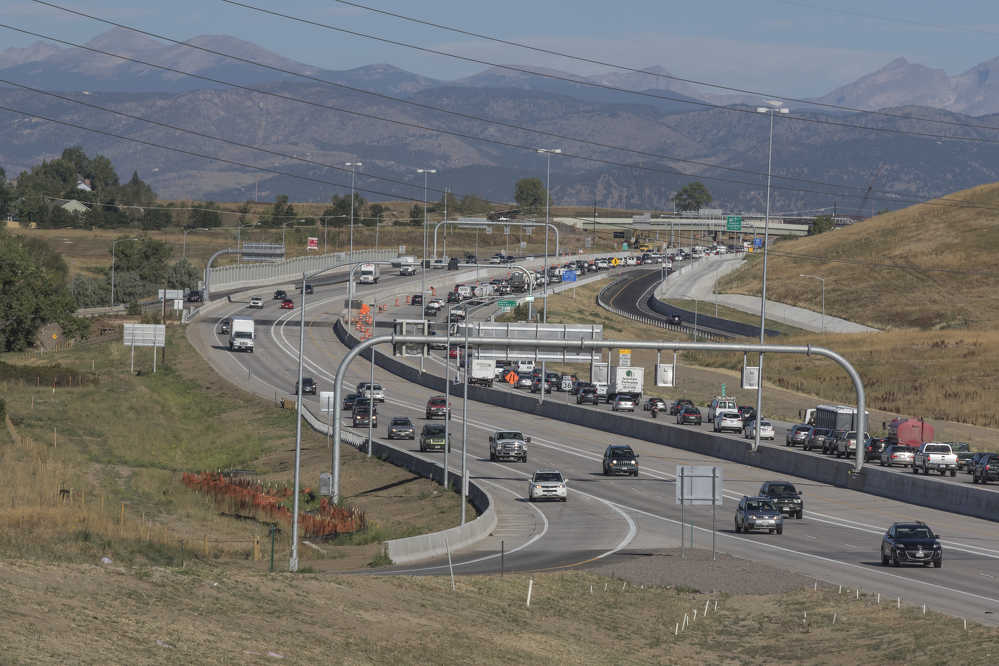 The Colorado Department of Transportation's $487 million U.S. 36 Express Lanes project earned the Grand Prize. (CDOT, Stephen Martinez photo)
