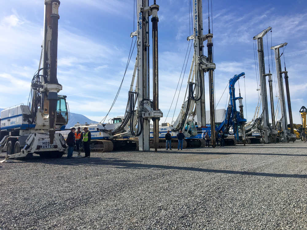 A large selection of drilling equipment for Utah-based company Most Wanted Drilling was liquidated at the Salt Lake City sale.