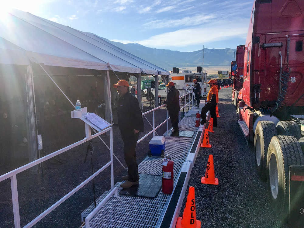 More than 2,250 bidders participated online and in person at Ritchie Bros.' multi-million-dollar unreserved public equipment auction in Salt Lake City, Utah, on Sept. 26, 2017.