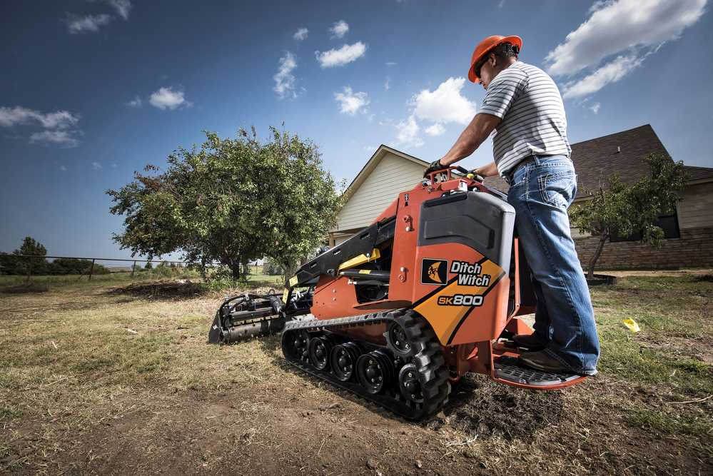 From small- to large-scale projects, the enhanced line of Ditch Witch mini skid steers provides power and productivity to complete a wide range of complex jobsite tasks.